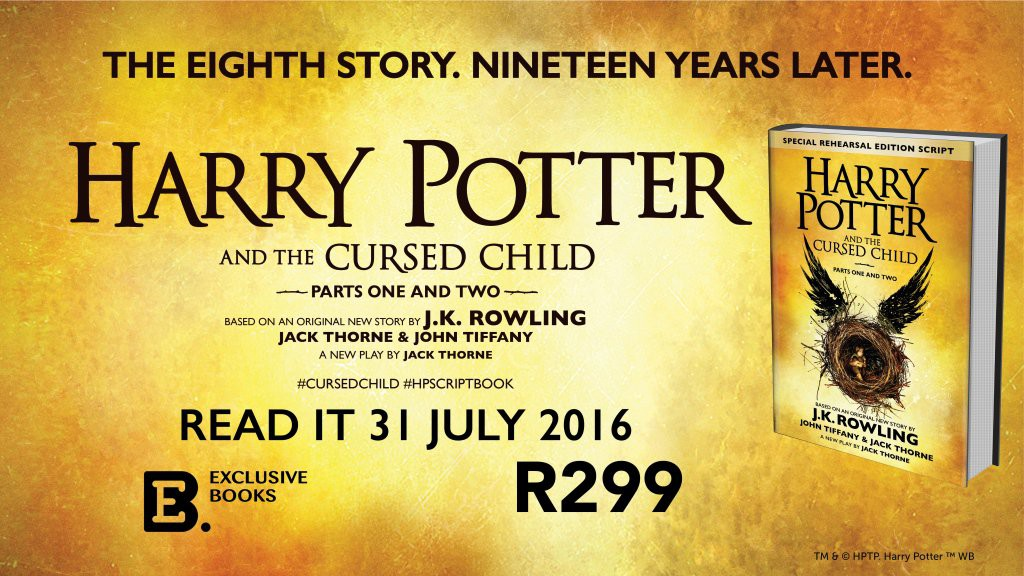 Harry Potter and the Cursed Child Parts I&II Release Day Competition