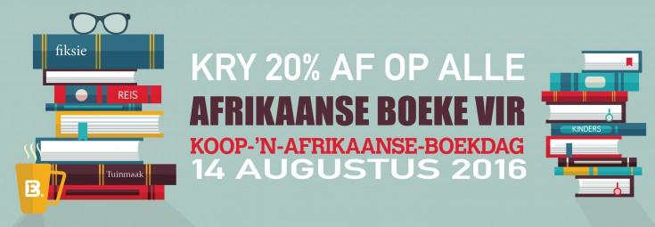 Koop  'n Afrikaans Boek Dag WEB BANNER
